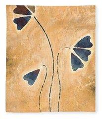 Zen Splendor - Dragonfly Art By Sharon Cummings. Fleece Blanket