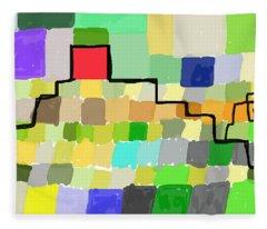 Ziggurat Fleece Blanket