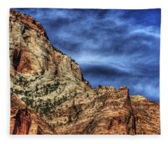 Zion Face 695 Fleece Blanket