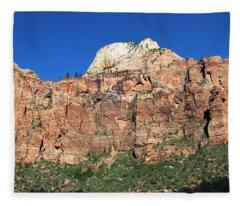 Zion Wall Fleece Blanket