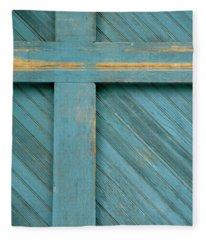 Blue Door Fleece Blanket