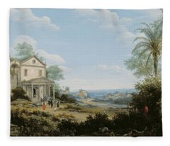 Brazilian Landscape Fleece Blanket