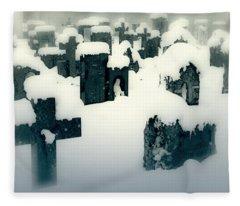 Cemetery Fleece Blanket