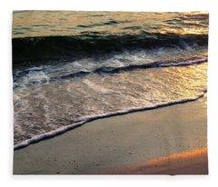 Gentle Tide Fleece Blanket