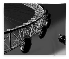London Eye Digital Image Fleece Blanket