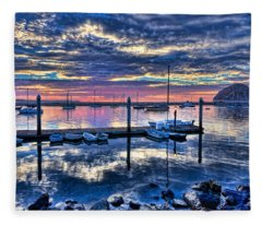 Morro Bay Wonder Fleece Blanket