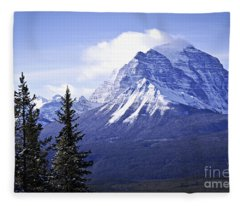 Mountain Landscape Fleece Blanket