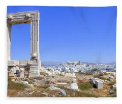 Naxos - Cyclades - Greece Fleece Blanket