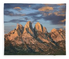 Organ Mountains Near Las Cruces New Fleece Blanket