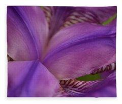 Purple Beauty Fleece Blanket