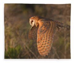 Silent Hunter Fleece Blanket