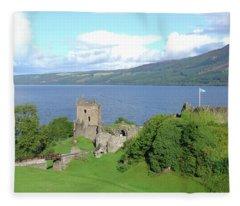 Urquhart Castle Fleece Blanket