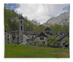 Valle Bavona - Ticino Fleece Blanket