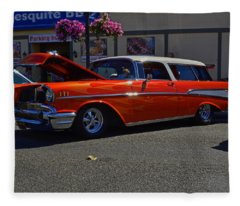 1957 Belair Wagon Fleece Blanket