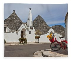 Alberobello - Apulia Fleece Blanket
