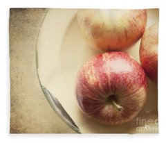 3 Apples Fleece Blanket