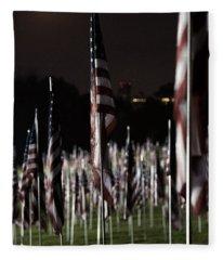 3000 Flags 911 Fleece Blanket