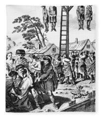 Foxe: Book Of Martyrs Fleece Blanket