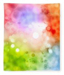 Bright Colors Fleece Blankets