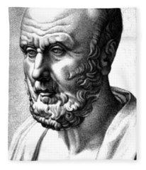 Hippocrates, Greek Physician, Father Fleece Blanket