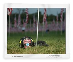 911 Fallen Remembered Fleece Blanket