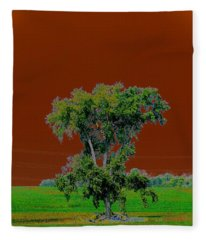 A Diferent Way Fleece Blanket
