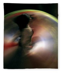 A Female Whirling Dervish In Capadocia Fleece Blanket