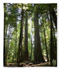 A Green World Fleece Blanket