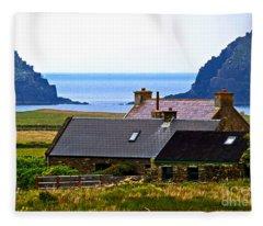 A House In Ireland Fleece Blanket