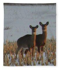 A Perfect Pair Fleece Blanket