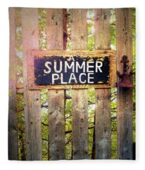 A Summer Place Fleece Blanket