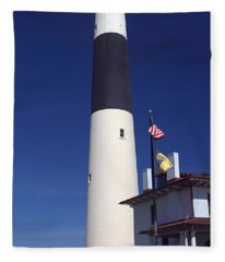 Absecon Lighthouse Fleece Blanket