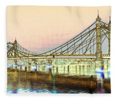 Albet Bridge London Fleece Blanket