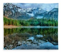 Alta Lakes Reflection Fleece Blanket