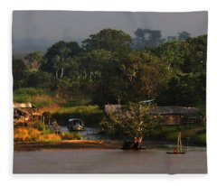 Amazon Village Fleece Blanket
