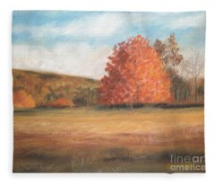 Amid The Tranquil Presence Of Change Fleece Blanket