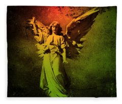 Angel Of Death Fleece Blanket