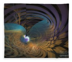 Angel Of The Subconscious Fleece Blanket