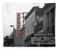 Apollo Theater In Harlem New York No.1 Fleece Blanket