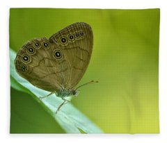 Appalachian Brown Fleece Blanket