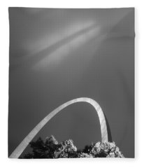 Arch Shadows Fleece Blanket