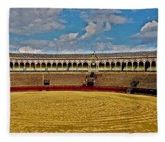 Arena De Toros - Sevilla Fleece Blanket