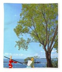 Artist's Art Fleece Blanket