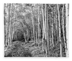 Aspen Forest Fleece Blanket