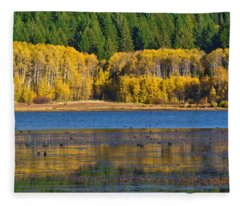 Aspen Gate Fleece Blanket