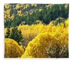 Aspen Hunt Fleece Blanket