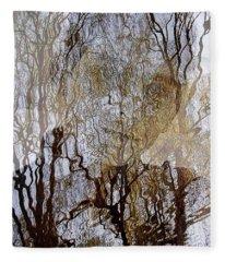 Asphalt - Portrait Of A Boy Fleece Blanket