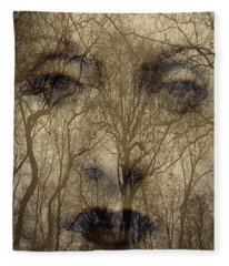 Asphalt - Portrait Of A Lady 2 Fleece Blanket