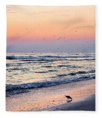 At Sunset Fleece Blanket