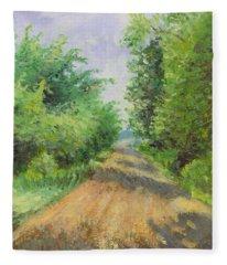 August Lane Fleece Blanket